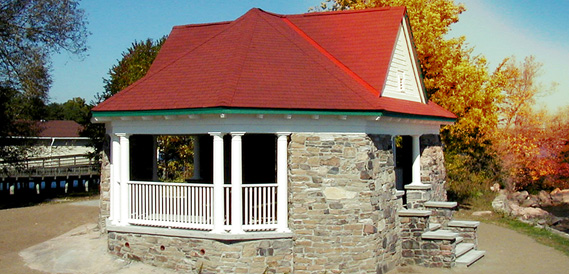 restoration of old buildings in Brockville